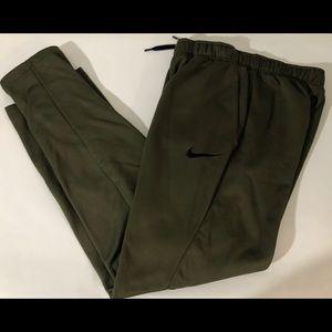 Nike Small S Cargo Green Black Dri-FIT Sweats
